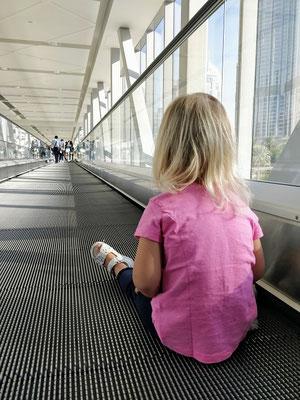lange Wege zur Dubai Mall