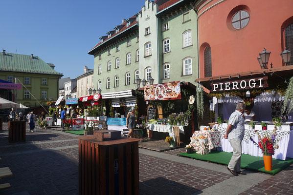Krakau- Piroggen Festival