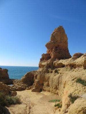 Felshöhlen Algar Seco