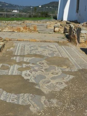 römische Ausgrabungsstätte von Milreu