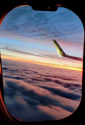 Abflug nach Lanzarote