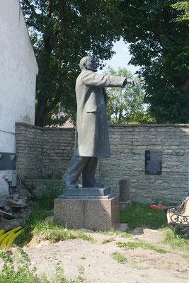 Grenzstadt Narva - der letzte Lenin