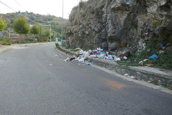nur das Müllproblem bleibt allgegenwärtig