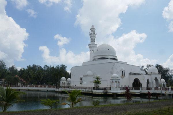 Kuala Terengganu - floating Mosque