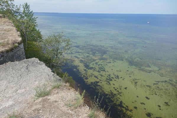 Steilküste westlich von Tallinn
