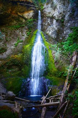 wunderschöne Marymere Falls