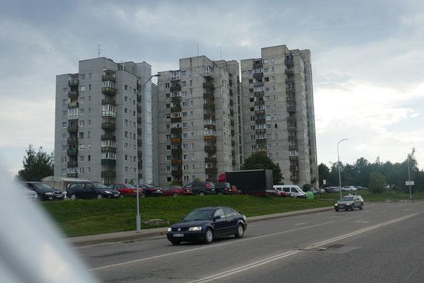 Stadtbild in Litauen
