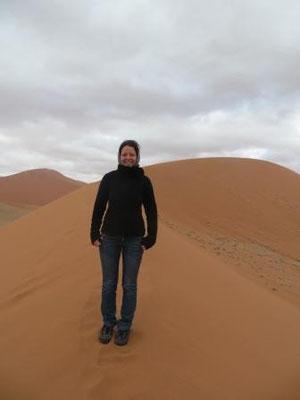 Eiseskälte in der Wüste...