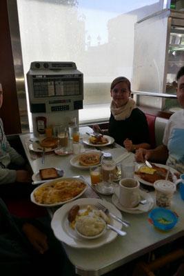 Diner-Frühstück