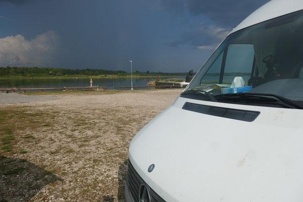 Saaremaa - Regen im Anmarsch