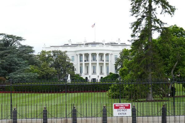 Washington DC - Das weiße Haus