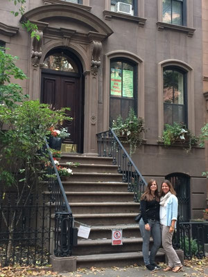 Carrie´s Haus auf der Sex and the City Tour