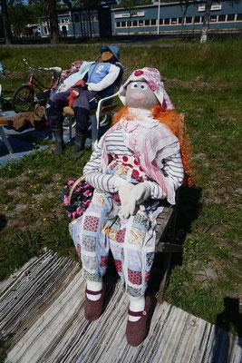 Strick-Puppen in Uusikaupunki