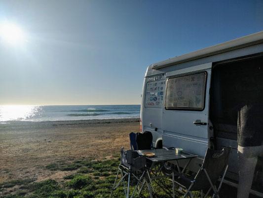 Spaniens Ostküste - schöne Stellplätze