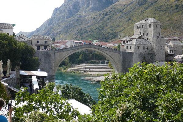 Mostar - die berühmte Stari Most