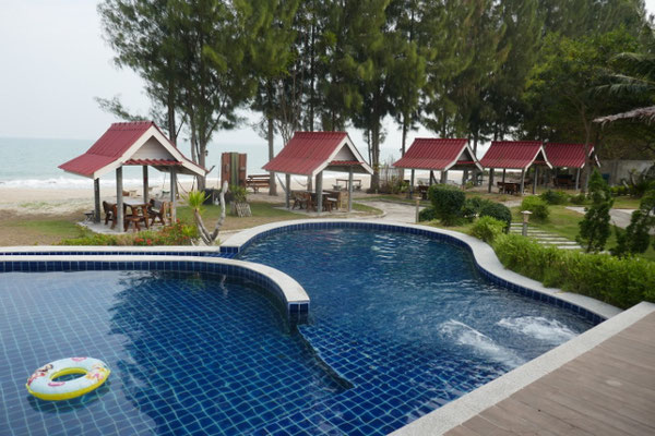 Unser schönes Hotel in Bangkrut