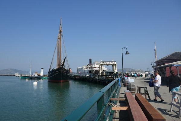 am Hafen von San Francisco