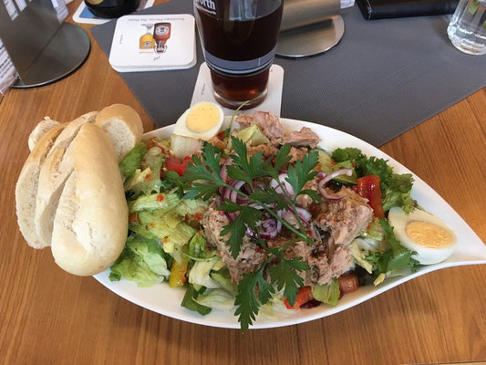Sankt Peter Ording - leckerer Thunfisch-Salat