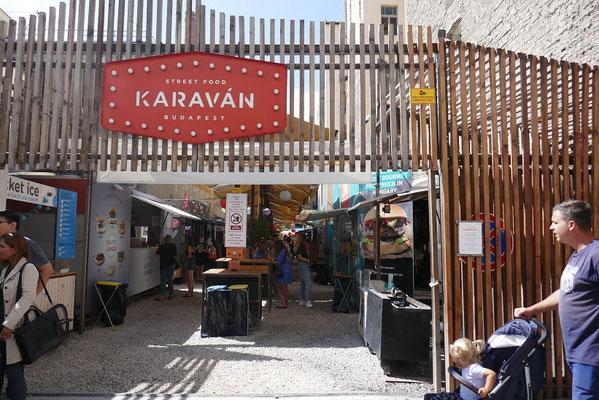 Budapest - Karavan Streetfood Meile