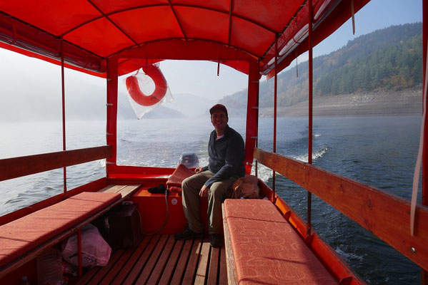 Bootsausflug auf dem Fluss Uvac