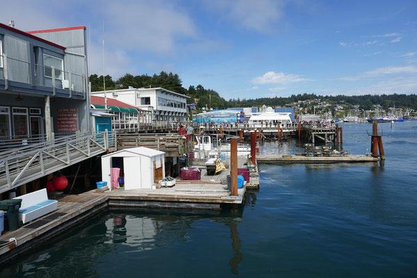 Hafenviertel in Newport