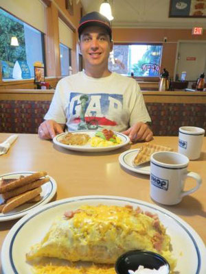 leckeres Frühstück im iHop