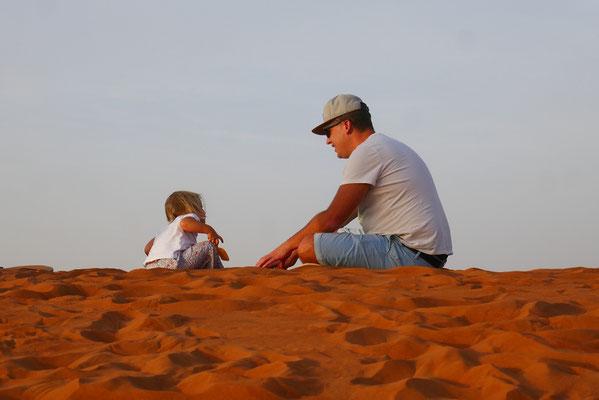 rießiger Sandkasten