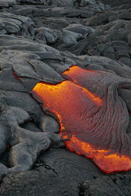 flüssige Lava
