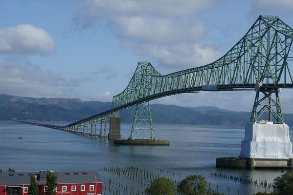 Astoria Meggler Brücke an der Grenze zu Oregon