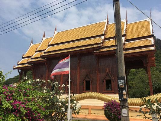 Wat Ao Noi Teakholztempel