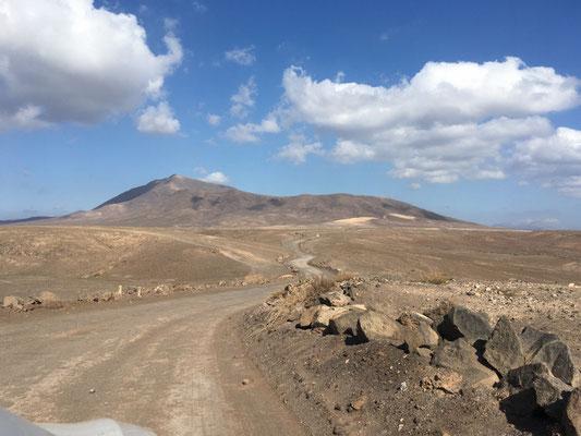 Karge Landschaft auf Lanzarote