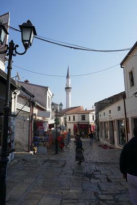Skopje - Basarviertel Carsija
