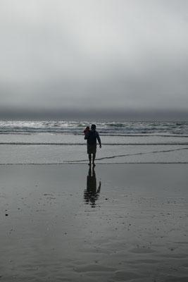 am Strand von Morro Bay