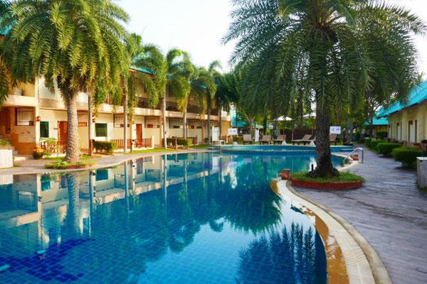 wieder einmal ein tolles Hotel mit Pool