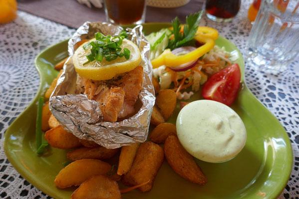Cesis - günstiges und leckeres Mittagessen