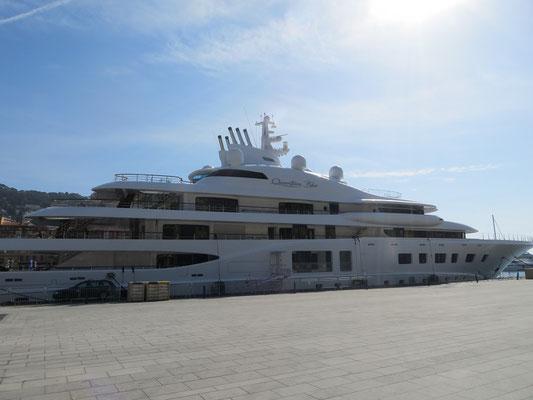 250 Millionen Dollar Yacht vom russischen Supermarkt-Magnat Sergey Galitsky