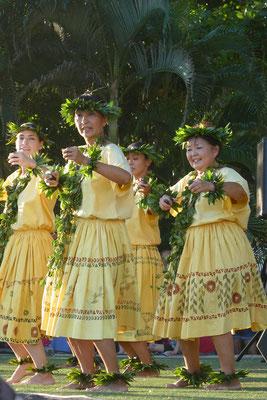 Hula-Tanz-Vorführung