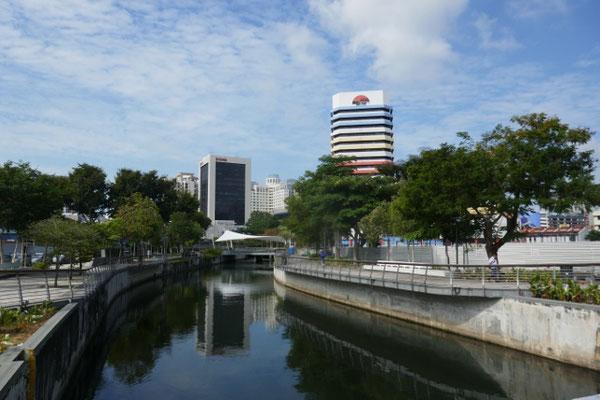 Singapur am Fluss