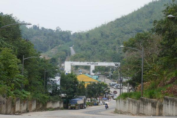 Grenzstadt Dan Singkhon