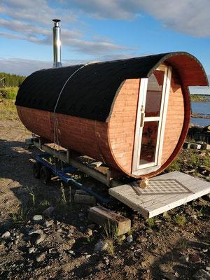 eine Sauna fand sich praktisch überall