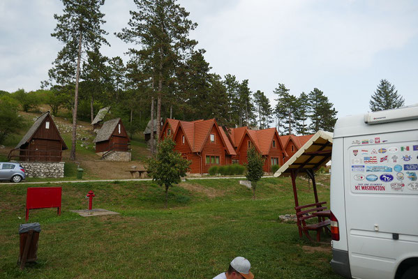 Camp im Aggtelek Nationalpark
