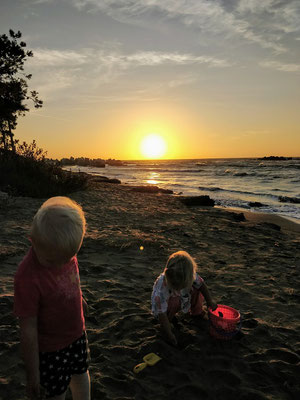 Camping Pa Emer direkt am Strand