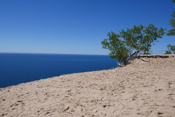 Sanddünen am Lake Superior