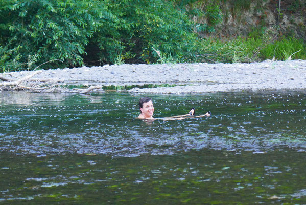 Baden im Eel-River