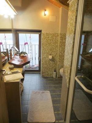 Unsere Ferienwohnung - tolles Badezimmer