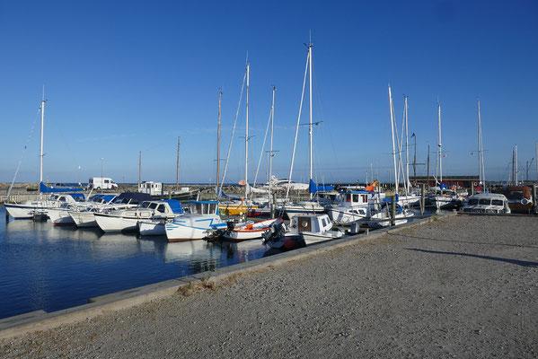 Womo-Stellplatz am Hafen von Albaek