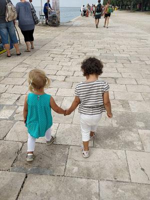 Zadar - Treffen mit guten Freunden :)