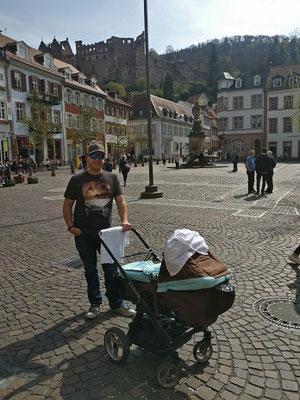 Spaziergang durch Heidelberg