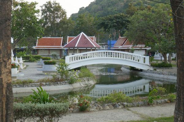 Stadtpark in Phetchaburi
