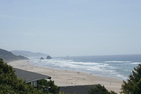 Oregon's traumhafte Küste lud immer wieder zu Pausen ein